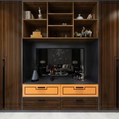 大容山板材-黑胡桃 桔黄