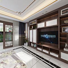 新中式-客厅3