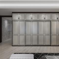 轻奢卧室衣柜门型3
