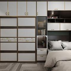 现代极简-卧室1