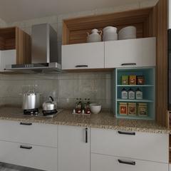 现代-厨房