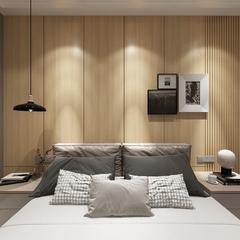 现代北欧卧室区