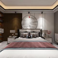 新中式卧室区